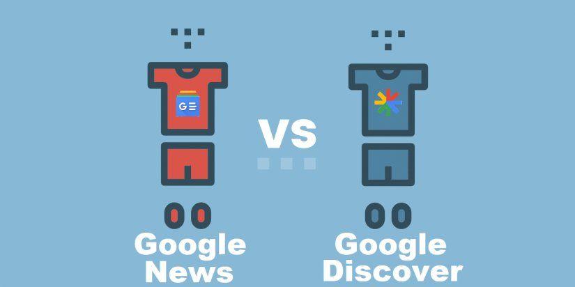 ¿En qué se diferencia Google News con Google Discover?